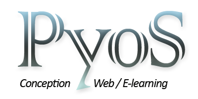 logo du site pyos - conception web, e-learning