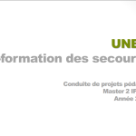 Document formation des secouristes